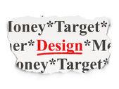 广告概念: 论文的背景设计 — 图库照片
