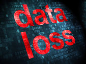 Information concept: Data Loss on digital background — Stok fotoğraf