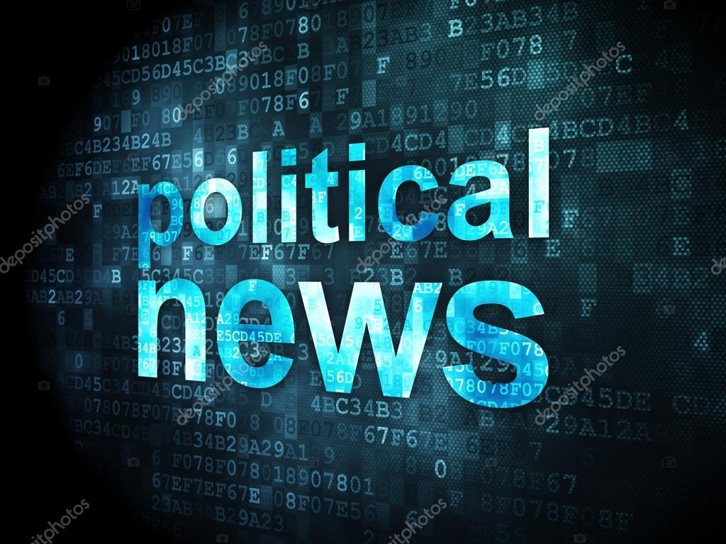 Background image 8841 - News Concept Political News On Digital Background Stock Photo 29508841
