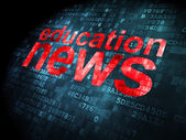News concept: Education News on digital background — Stock Photo