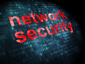Privacy concept: Network Security on digital background — Stock Photo