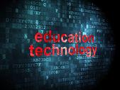 Education concept: Education Technology on digital background — Stock Photo