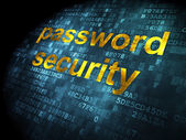 Privacy concept: Password Security on digital background — Stock Photo