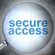 Protection concept: Secure Access with optical glass — Photo