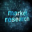 Marketing concept: Market Research on digital background — Foto Stock