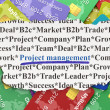 Business concept: Project Management on Credit Card background — Foto de stock #31663901