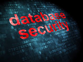 Safety concept: Database Security on digital background — Stock Photo