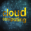 Cloud computing technology, networking concept: Cloud Computing — Стоковая фотография