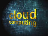 Cloud computing technology, networking concept: Cloud Computing — Stock Photo