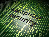 Protection concept: circuit board with word Computer Security — Stock Photo