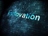 Finance concept: Innovation on digital background — Foto de Stock