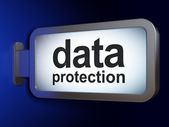 Security concept: Data Protection on billboard background — Stock Photo