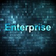 Business concept: Enterprise on digital background — Stock Photo
