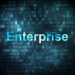Stock Photo: Business concept: Enterprise on digital background