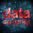 Privacy concept: Data Security on digital background — Stock Photo