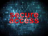 Privacy concept: Secure Access on digital background — Foto de Stock