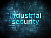 Protection concept: Industrial Security on digital background — Photo