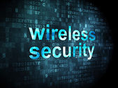 Security concept: Wireless Security on digital background — Stock Photo