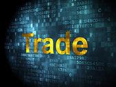 Business concept: Trade on digital background — ストック写真