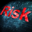Business concept: Risk on digital background — Stock Photo #34092765