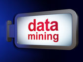 Data concept: Data Mining on billboard background — Stock Photo