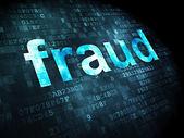 Security concept: Fraud on digital background — ストック写真