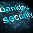 Security concept: Banking Security on digital background — 图库照片 #34111405