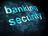 Security concept: Banking Security on digital background — Foto Stock