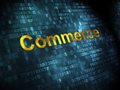 Business concept: Commerce on digital background — Photo