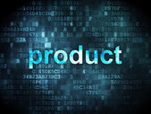 Marketing concept: Product on digital background — Foto de Stock