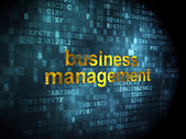 Business concept: Business Management on digital background — Stok fotoğraf