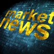 Stock Photo: News concept: Market News on digital background