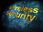 Protection concept: Wireless Security on digital background — Stockfoto