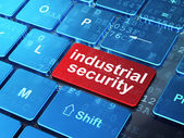 Safety concept: Industrial Security on computer keyboard background — Stock Photo