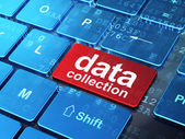 Data concept: Data Collection on computer keyboard background — Stock Photo