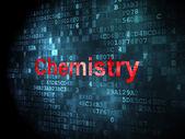 Education concept: Chemistry on digital background — Stock Photo