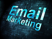 Business concept: Email Marketing on digital background — Stockfoto