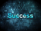 Business concept: Success on digital background — Stock Photo
