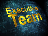 Business concept: Executive Team on digital background — Stock Photo