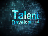 Education concept: Talent Development on digital background — ストック写真