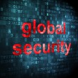 Safety concept: Global Security on digital background — Stock Photo