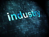 Finance concept: Industry on digital background — Foto Stock