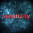Stock Photo: Marketing concept: Creativity on digital background