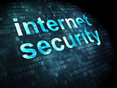 Protection concept: Internet Security on digital background — Stock Photo