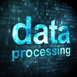 Information concept: Data Processing on digital background — Stock Photo #36771457