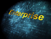 Finance concept: Enterprise on digital background — Foto Stock