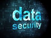 Privacy concept: Data Security on digital background — Foto de Stock