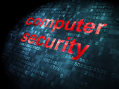 Security concept: Computer Security on digital background — Stockfoto