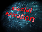 Education concept: Special Education on digital background — Stock Photo