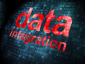 Data concept: Data Integration on digital background — Stock Photo